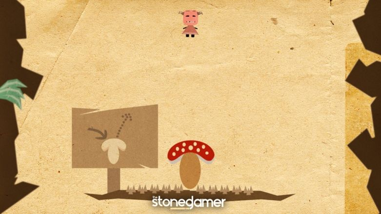 Alice in the Mushroom Hole is a game where you fall down a hole, on mushrooms