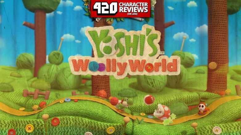 420 Character Reviews: Yoshi's Wolly World (7.4)