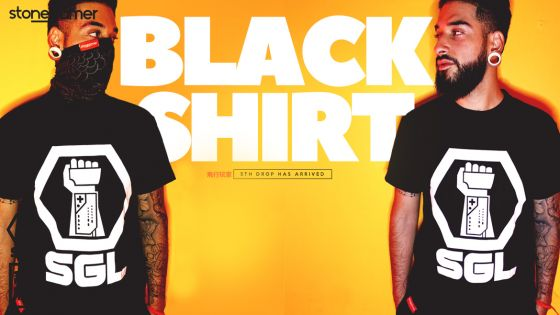 The Black Shirt, SGL's 5th Drop is HERE