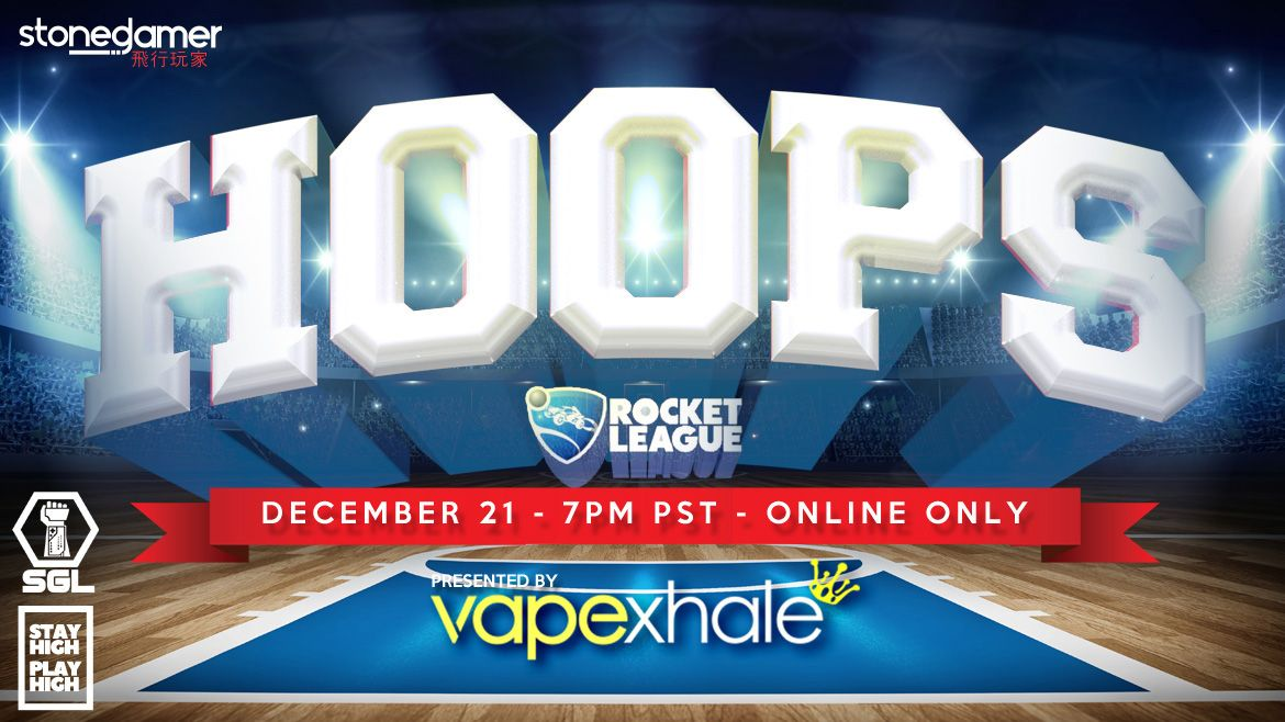 2018 SGL Rocket League HOOPS Tournament presented by Vapexhale