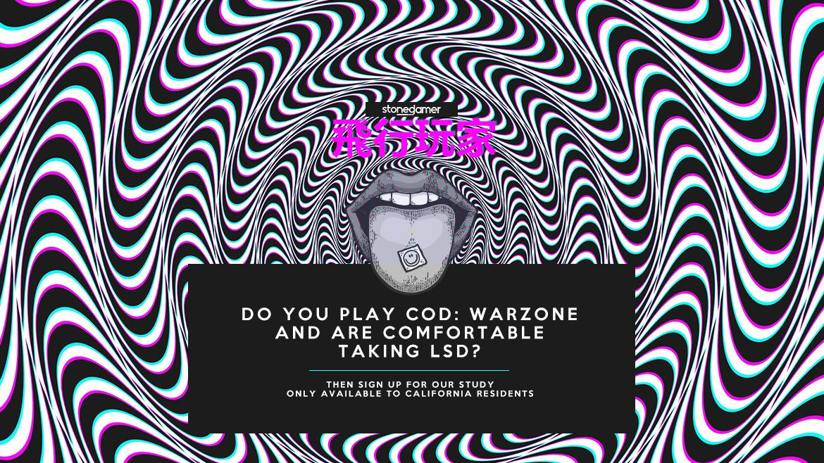 Sign up for our LSD x Call of Duty: Warzone Research Study