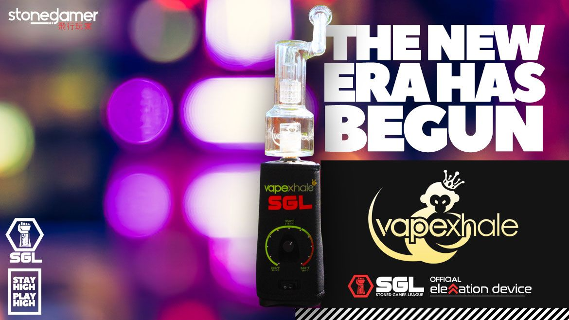 Vapexhale is the Official Elevation Device of the SGL