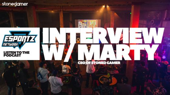 Esportz Network Podcast interview with Marty Schneider, CEO of Stoned Gamer