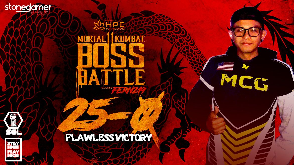 Fern219 goes UNDEFEATED in SGL's MK11 BOSS BATTLE