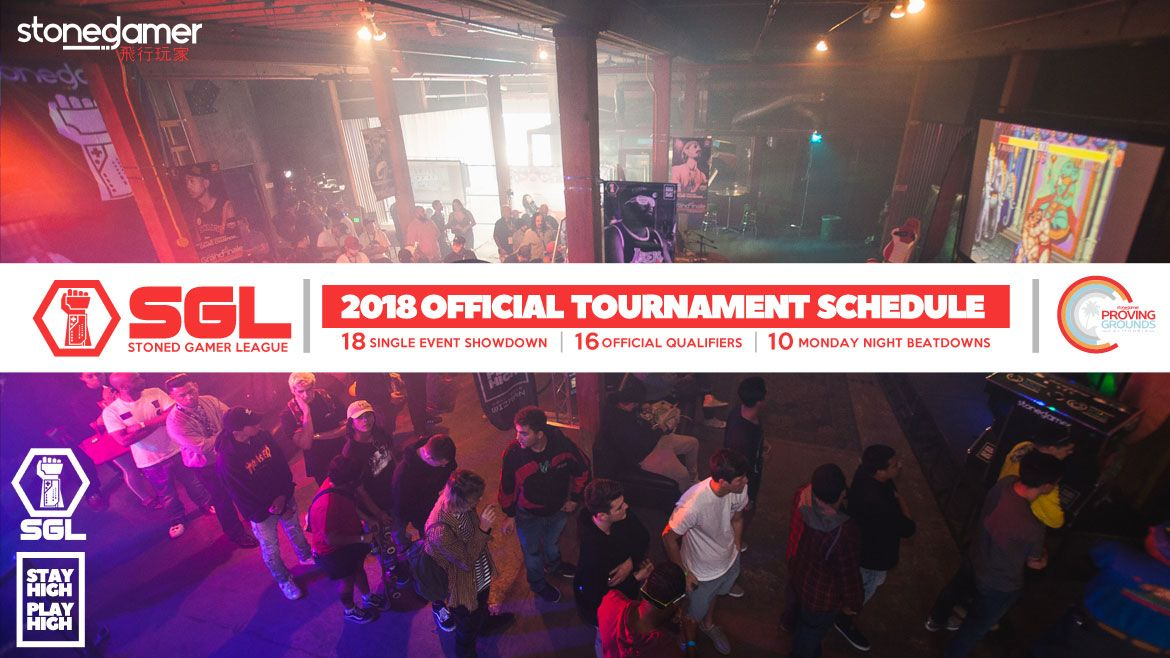 2018 SGL Official Tournament Schedule