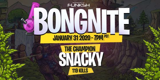 Snacky reigns as CHAMPION of 2020's FIRST Bongnite Tournament