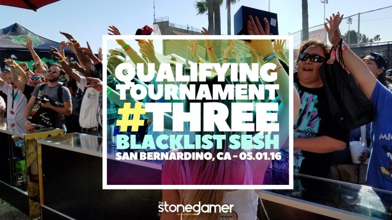 Wrap-Up of TSG #3 Qualifying Tournament held 05/01 at Blacklist Sesh