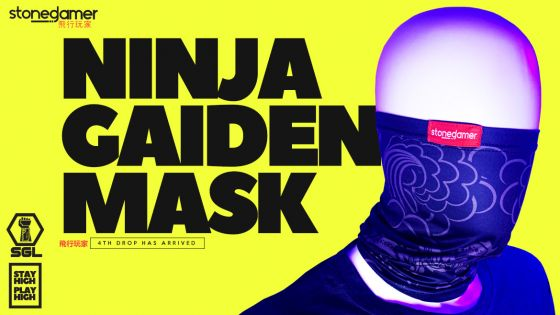 Ninja Gaiden Mask, SGL's 4th Drop is HERE
