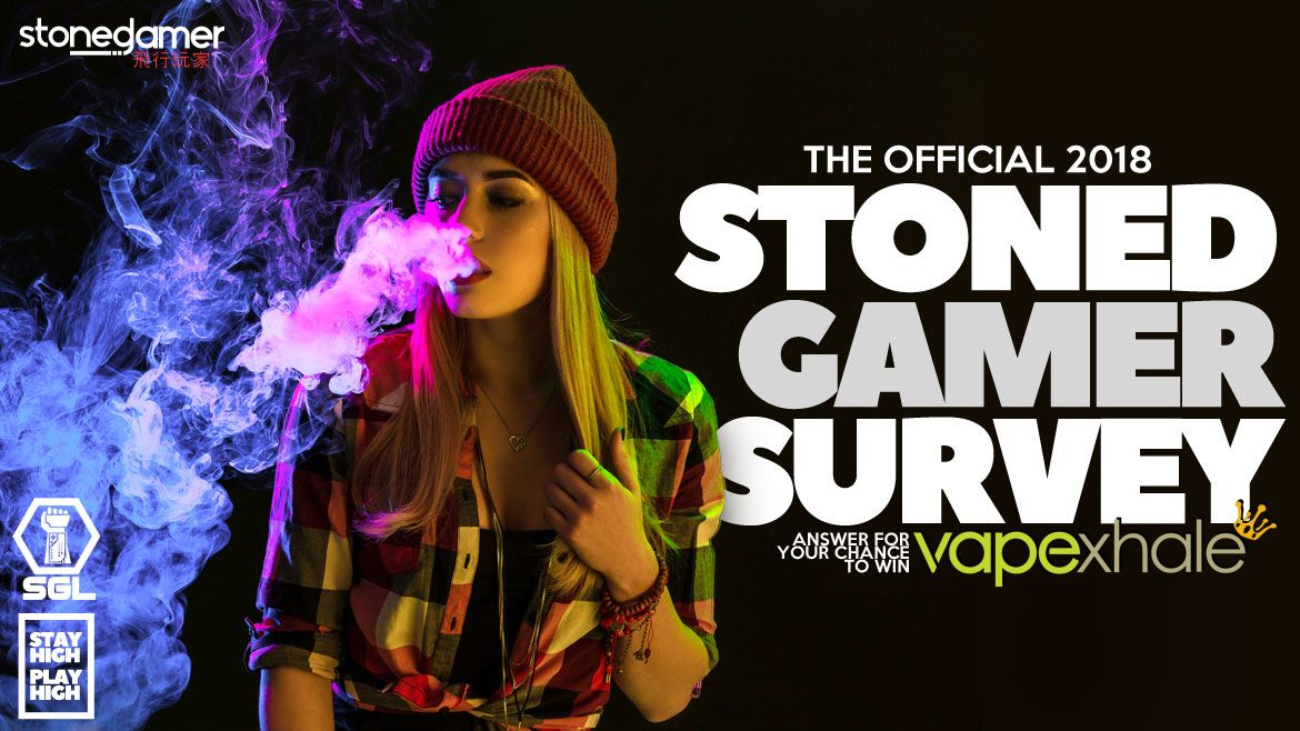Take the 2018 SGL Stoned Gamer Survey for a chance to win a Vapexhale!