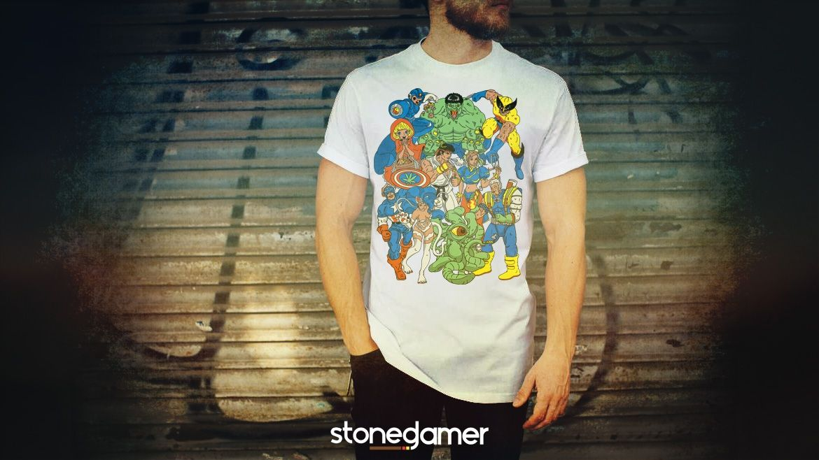 Limited-Edition Stoned Gamer Shirt for the 2016 Grand Finale Tournament