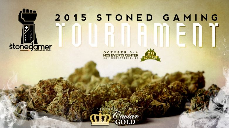 BREAKING: The World's FIRST Stoned Gaming Tournament will be held October 3-4 at the XO Gold Cup