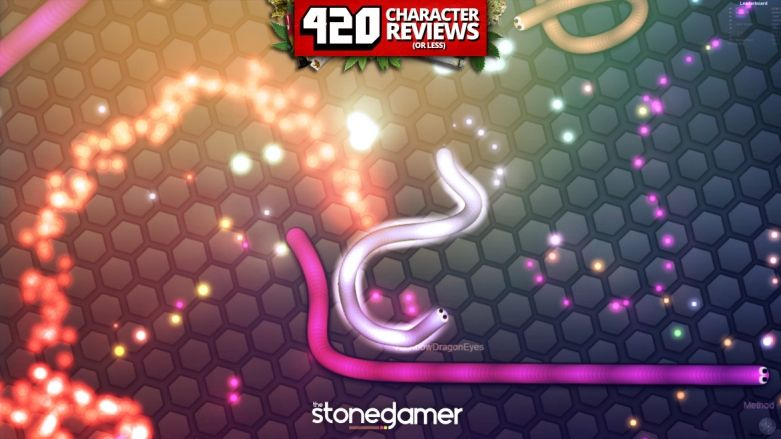 420 Character Reviews: Slither.io (8.4)