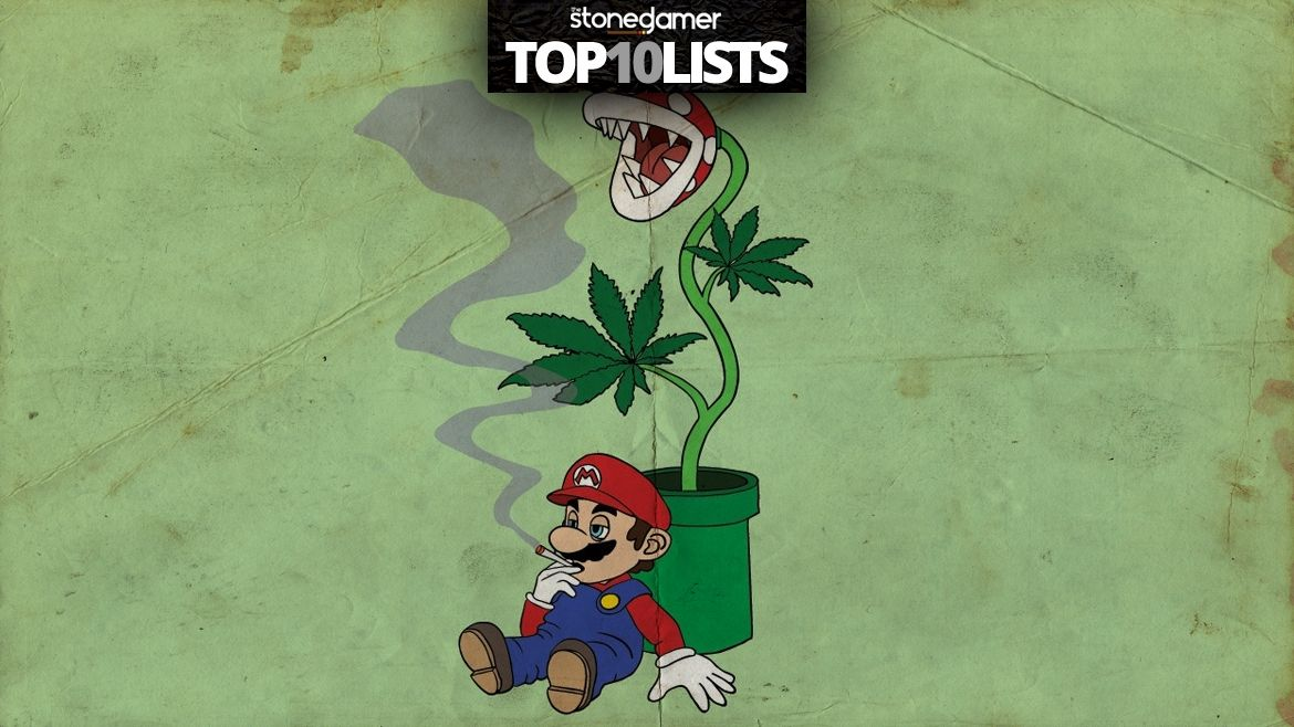 The Top Ten Super Mario Smoking Devices That Nintendo Definitely Doesn't Know About