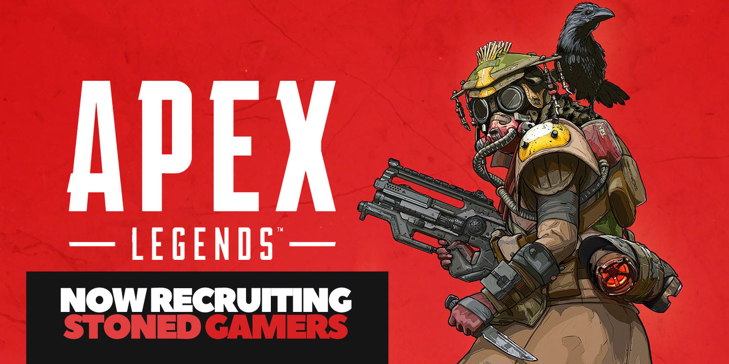 You only knew it was a matter of time before EA's groundbreaking Apex Legends hits the circuit at the Stoned Gamer League.