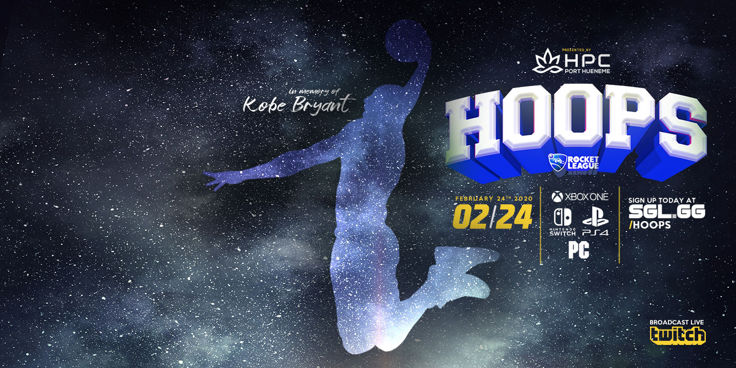 We all felt the pain when Kobe Bryant left our universe earlier this year. It's a hole that will never be filled. We are doing this Rocket League Hoops Tournament in HONOR of MAMBA!