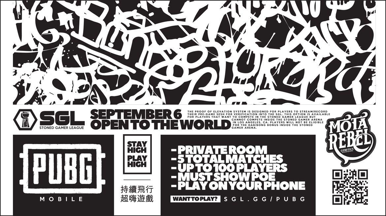 PUBG Mobile Tournament - September 6th