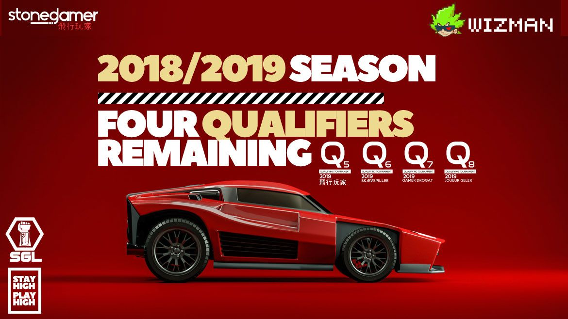 SPOTS REMAINING in the 2018/2019 SGL RocketLeague Season, SIGN UP