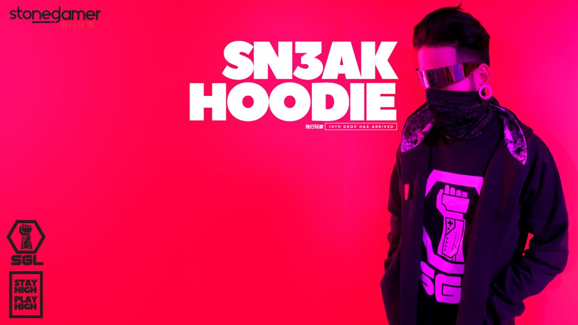 SN3AK Hoodie, SGL's 10th Drop is HERE