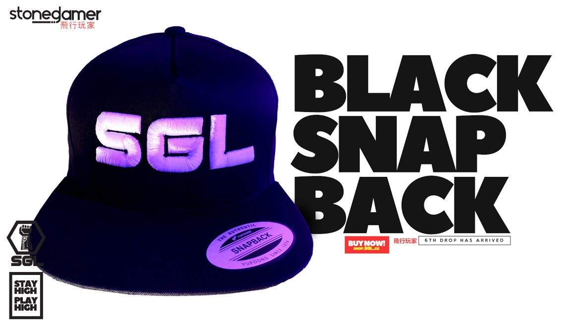 Black Snap Back, SGL's 6th Drop is HERE