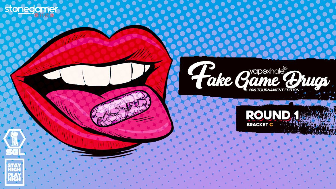 Fake Game Drugs: The TOURNAMENT (Round 1 - Bracket C)