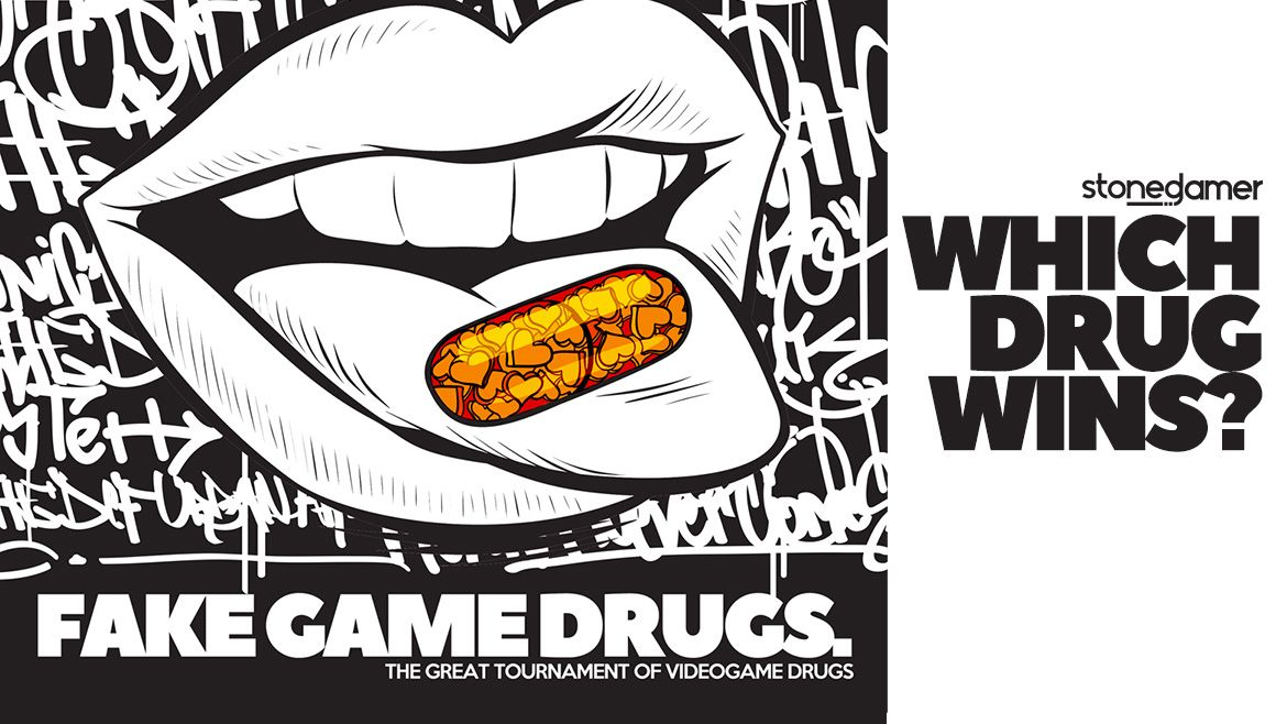 Fake Game Drugs: The TOURNAMENT (Final Four)