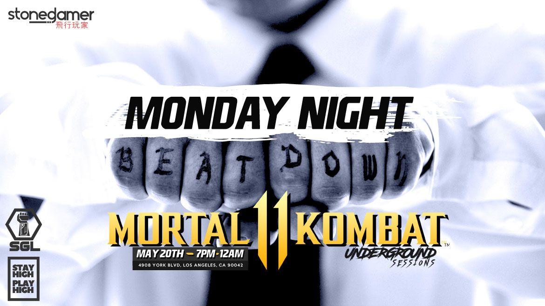 2019 SGL Underground Sessions: Mortal Kombat 11